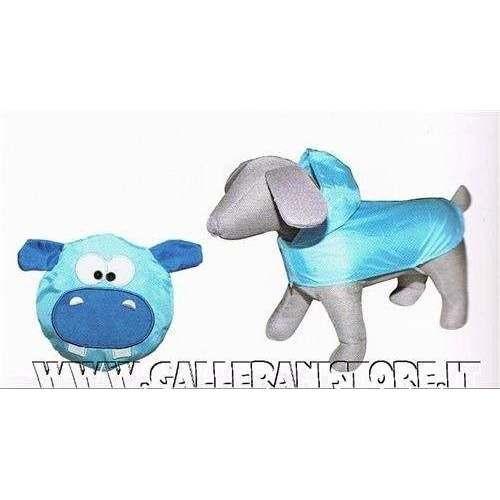 Impermeabile tascabile IPPOPOTAMO per cani - Linea caniAmici