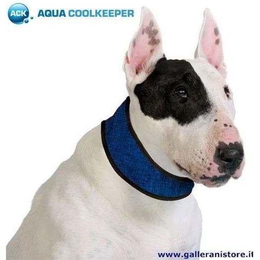 Collare refrigerante Pacific Blue per cani - AQUA COOLKEEPER