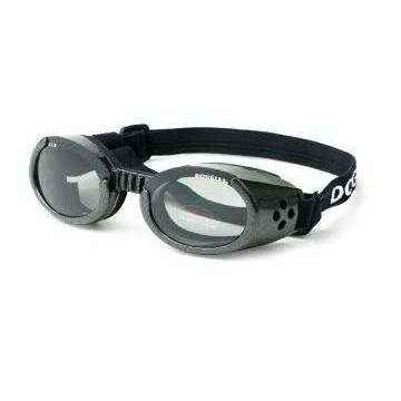 Occhiali da sole DOGGLES per cani - Black Medium