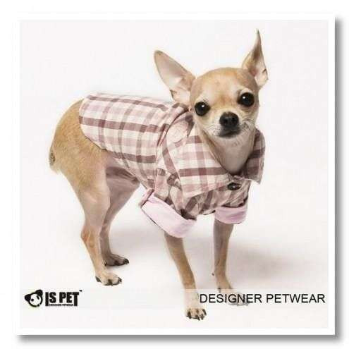 Camicia per cani Lumberjack Is Pet Rosa - L