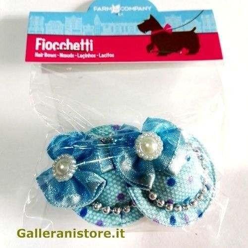 Fiocchetti Azzurri per cani mod.Cappellino - Farm Company