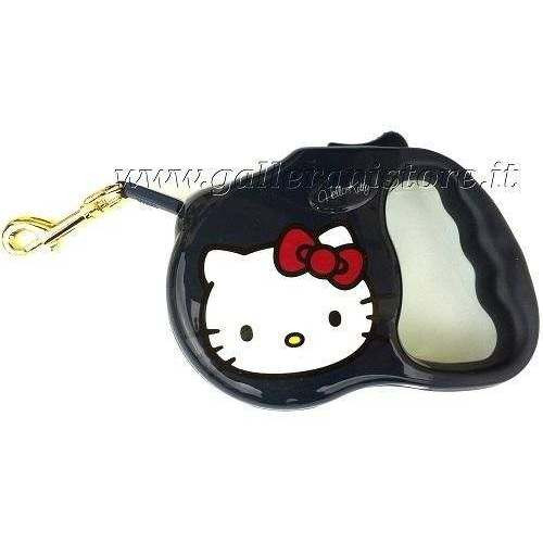 Guinzaglio Estensibile Hello Kitty Blu - Love Pets by Fix