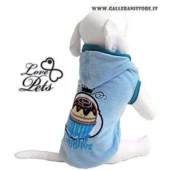 Felpa per cani PASTICCINO - Love Pets