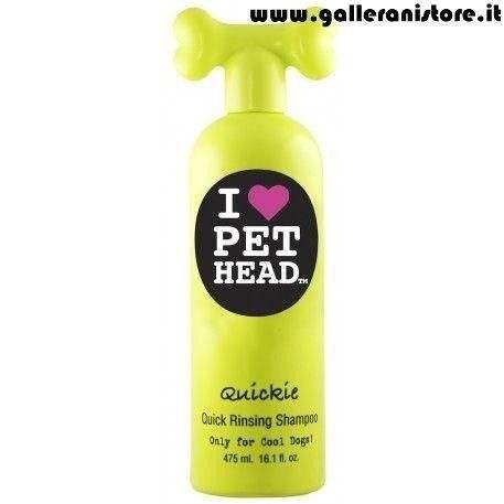 Shampoo Risciacquo Veloce per cani QUICKIE Guava Tropicale - I LOVE PET HEAD