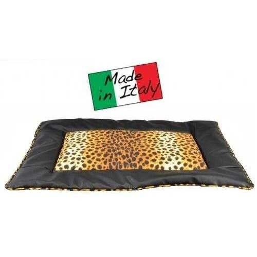 Cuscino Sky Leopardato Nero 80x60 per cani - Linea Camon