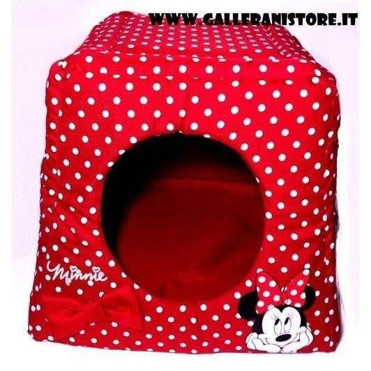 Casetta per cani MINNIE HOUSE cm 43X43Xh36 - Disney
