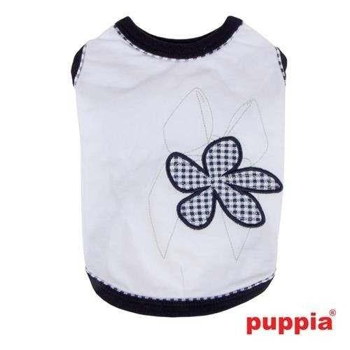Maglietta Geranium Shirt cotone naturale per cani - Puppia