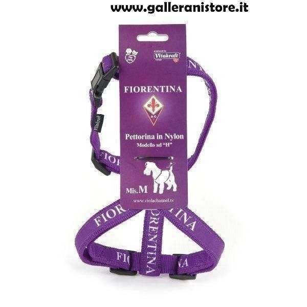 Pettorina ufficiale Fiorentina Football per cani - Squadre di calcio Serie A
