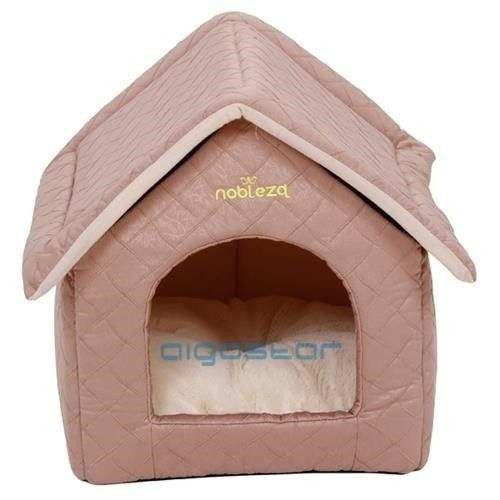 Casetta Luxury Pet House morbida cuccia per cani e gatti - Nobleza