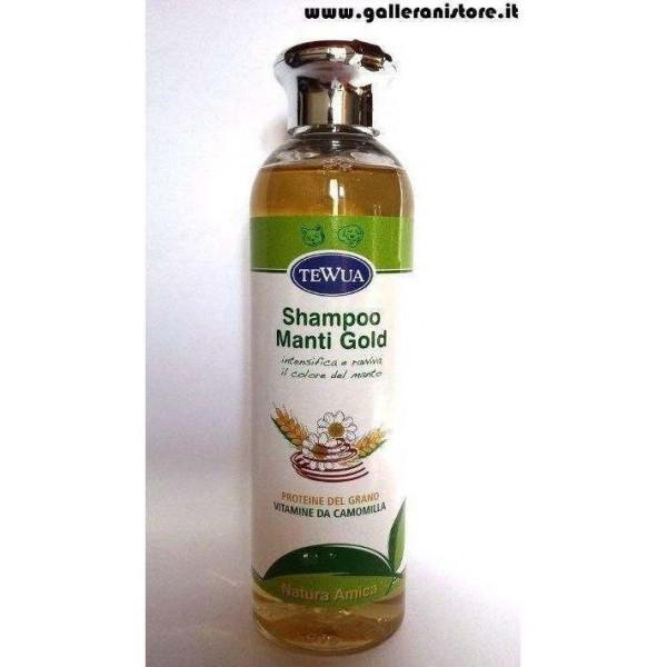 Shampoo Manti GOLD Natura Amica - Tewua