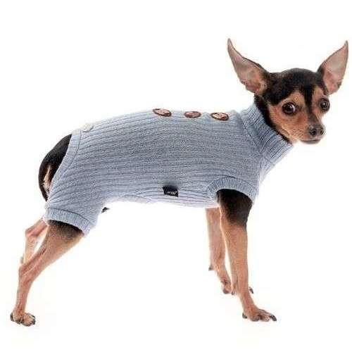 Tutina Lana Azzurra per cani - Trilly tutti Brilli