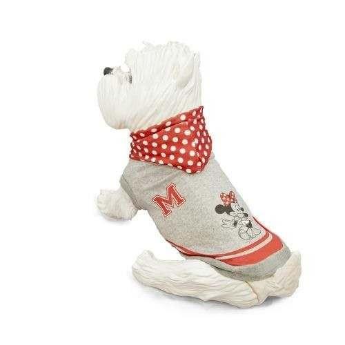 Felpa College MINNIE Rossa per cani - Disney Minnie
