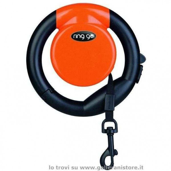 Guinzaglio allungabile RING GO Arancione - Vitakraft