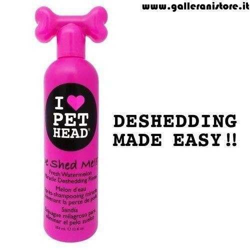 DE SHED ME Detergente contro la perdita del pelo - I LOVE PET HEAD