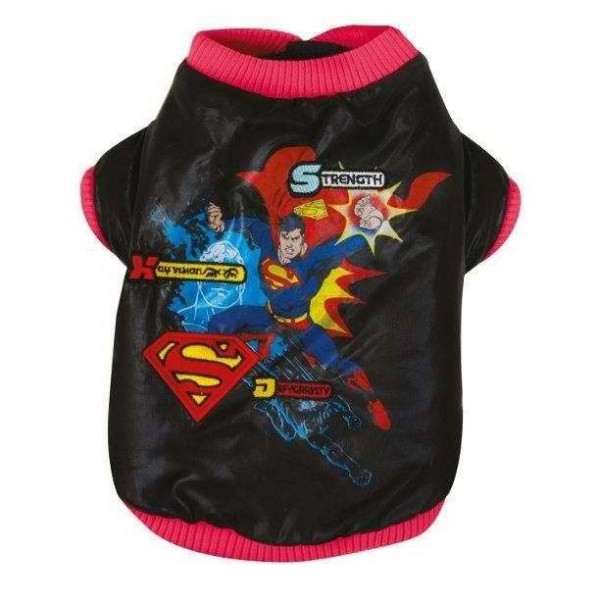 Giubbotto imbottito SUPERMAN STRENGHT per cani - SUPERMAN