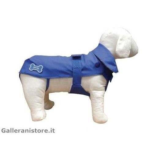 Impermeabile Rain Blu cani - Fuss Dog