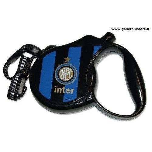 Guinzaglio allungabile ufficiale dell Inter per cani - Squadre di calcio Serie A