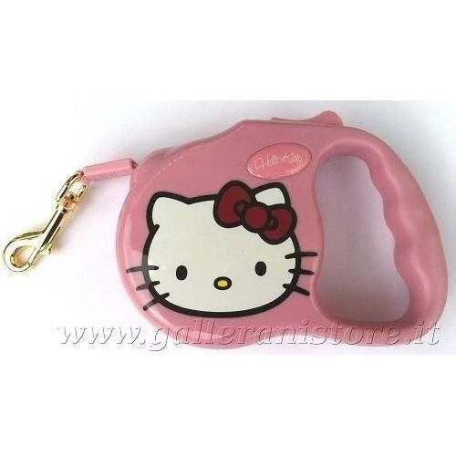 Guinzaglio Estensibile Hello Kitty Rosa - Love Pets by Fix