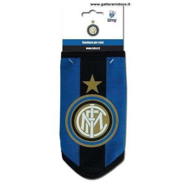 BANDANA ufficiale dell Inter per cani - Squadre di calcio Serie A