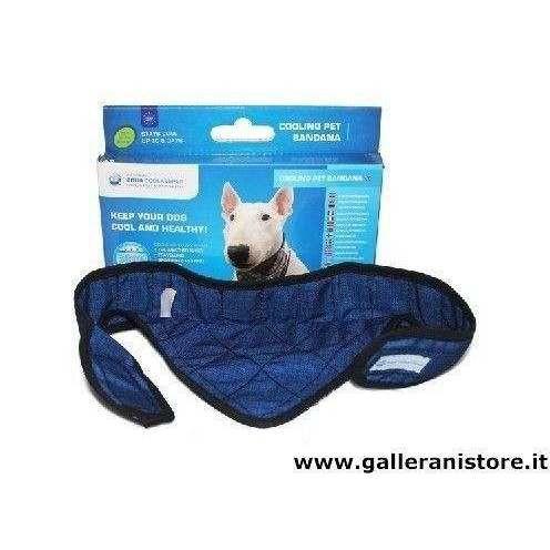 Bandana refrigerante Pacific Blue per cani - AQUA COOLKEEPER