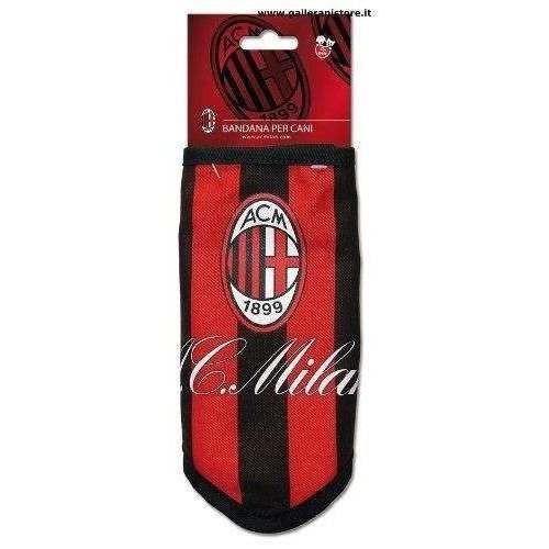 BANDANA ufficiale del Milan per cani - Squadre di calcio Serie A
