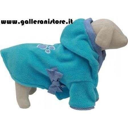 Accappatoio azzurro per cani - Fuss Dog