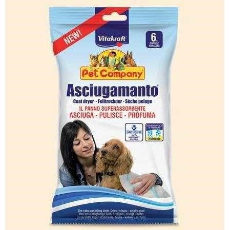 Asciugamanto al Pantenolo per cani - Vitakraft