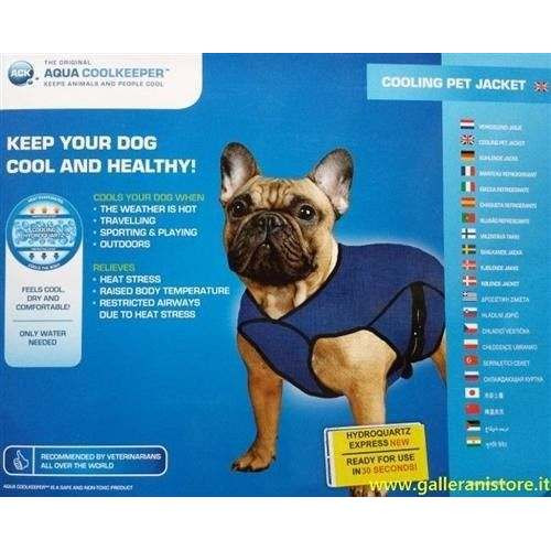 Giacca refrigerante per cani - AQUA COOLKEEPER
