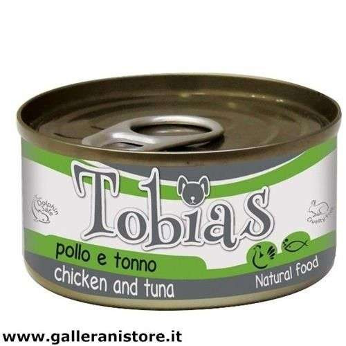 TOBIAS Pollo e Tonno 85 gr cibo per cani - Croci