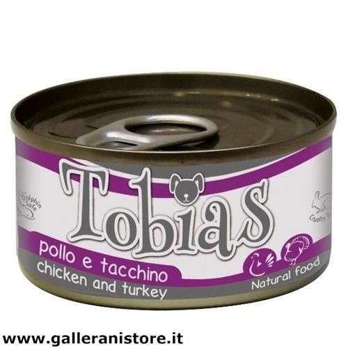 TOBIAS Pollo e Tacchino 85 gr cibo per cani - Croci