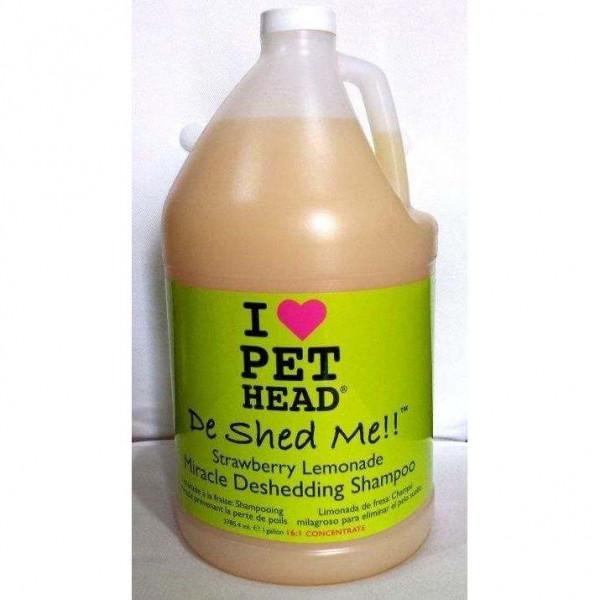 DE SHED ME Tanica Lt 3,785 Shampoo contro la perdita del pelo - I LOVE PET HEAD