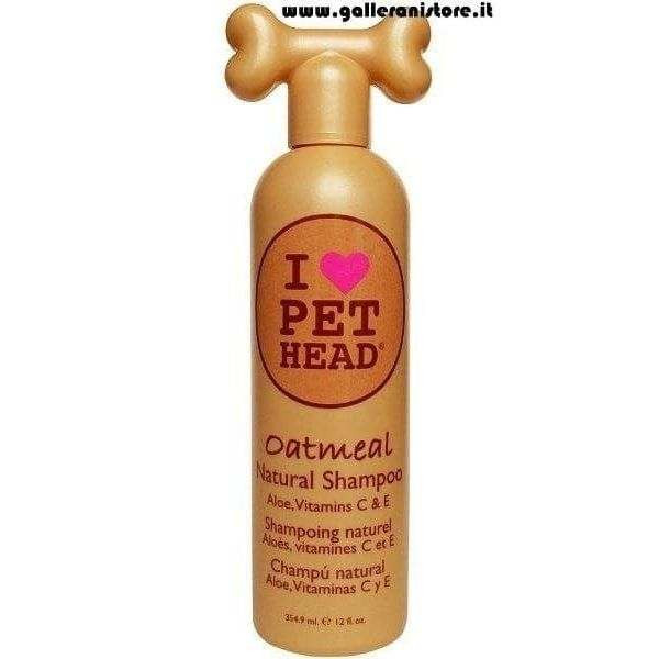 OATMEAL Shampoo Naturale per animali domestici - I LOVE PET HEAD