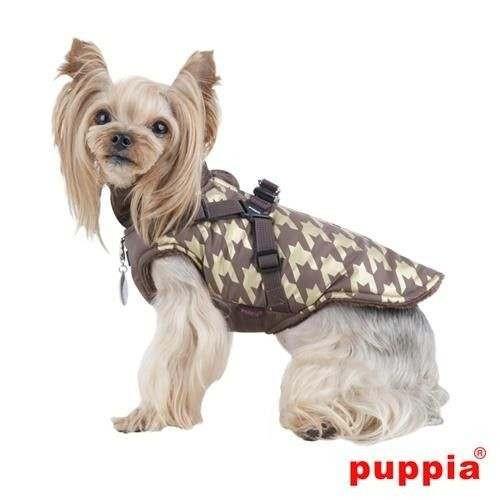 Giubbotto con pettorina incorporata DOGSTOOTH per cani - Puppia