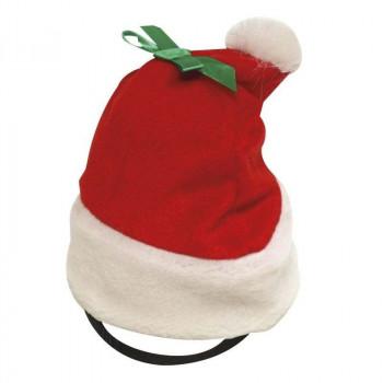 Cappello da Babbo Natale per cani Christmas Hat  Small