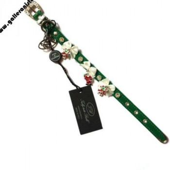 Collare NATALE Mod 6/b c/Swarovsky e charm- Trilly tutti Brilli