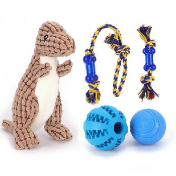 Giocattolo per cani Cofanetto T-Rex - Nobleza