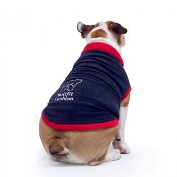 "Pile per Bulldog Inglese ""Melina"" Navy Blue"