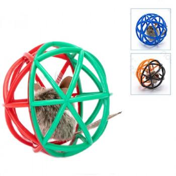 Gioco per gatti a sfera con topolino - Nobleza