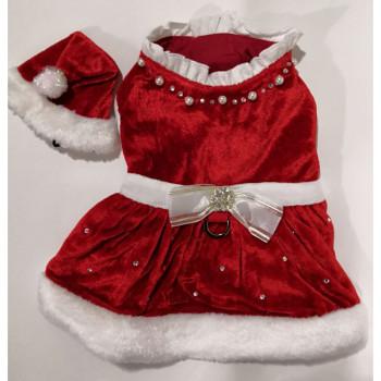 Vestito di Natale per cani Santa Dress - Noella