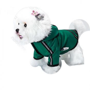 """Impermeabile per cani riflettente """"Nuvola"""" Verde - Nobleza"""