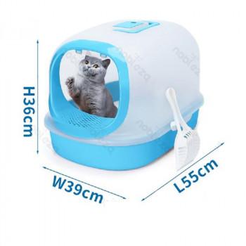 Lettiera per gatti Suite Blu - Nobleza