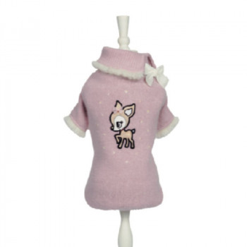 "Maglioncino per cani ""Sweet Bamby"" - Charlotte's Dress"