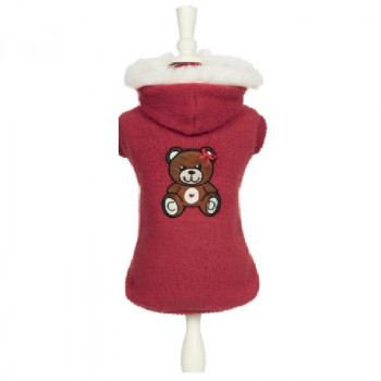 "Maglia per cani ""Teddy in Red""  - Charlotte's Dress"
