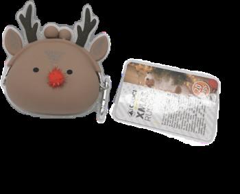 Sacchettini per Cani con Mini-bag Xmas Rudolf - Croci