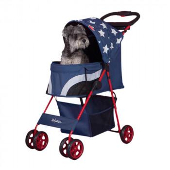 """Passeggino per cani """"Pop Art"""", modello Starlite Captain - Ibiyaya"""