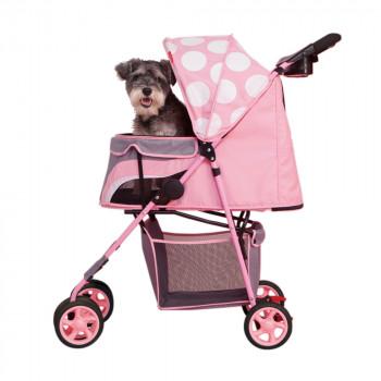 "Passeggino per cani ""Pop Art"", modello Dotty Diva - Ibiyaya"