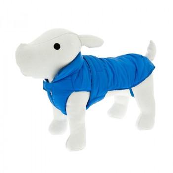 Piumino per cani Caldoso, colore Blu - Linea Ferribiella