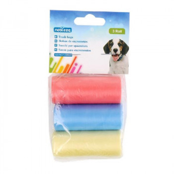Sacchettini igienici per cani colorati - Nobleza