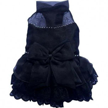 Abito da cerimonia Black Formal per cani