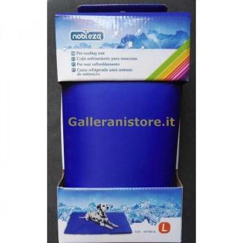 Pet Mat Tappetino rinfrescante termoregolatore colore Blu cm 50x90 Nobleza